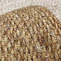 Кашпо плетеное с подложкой, фото 2