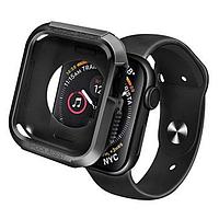 Чехол-накладка DK Silicone Rugged Shield для Apple Watch 40mm Series 4 (black)