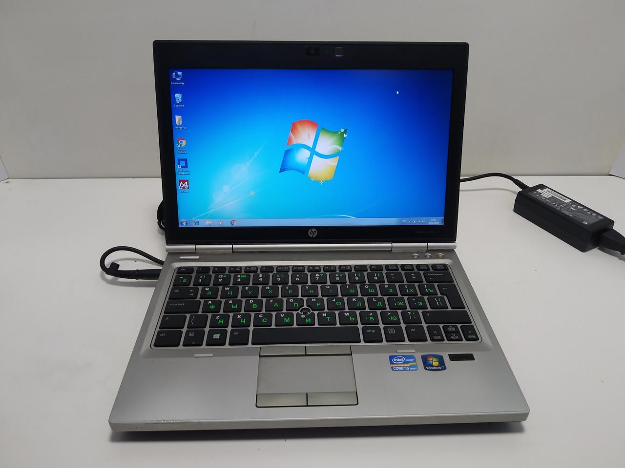 Компактный и мощный HP EliteBook 2570p, i7 3520m 2.9-3.6, 4 ГБ DDR3, 500 ГБ hdd, батарея до 5 часов