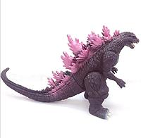 Прорезиненная  фигурка Годзилла, фиолетовая (высота 20 см)