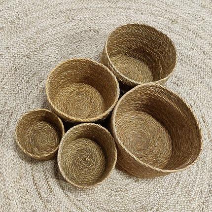 Кашпо плетеное, фото 2