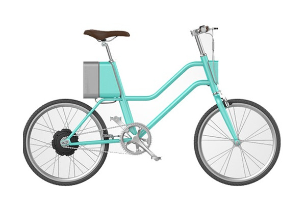 Электровелосипед Xiaomi YunBike C1 Women`s Elegant Blue