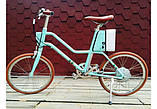 Электровелосипед Xiaomi YunBike C1 Women`s Elegant Blue, фото 4