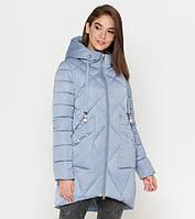 Tiger Force 9091 | Зимняя женская куртка голубая