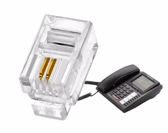 Конектор телефонний роз'єм RJ-9 4p2c