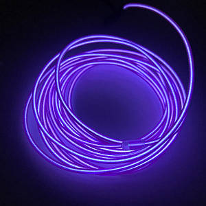 Холодный Светодиодный Неон Флекс Фиолетовый