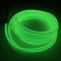 Светодиодный Холодный Неон Флекс Салатовый