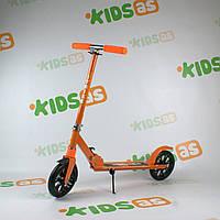 Самокат двухколесный складной iTrike SR 2-010-8 Orange Гарантия качества Быстрая доставка
