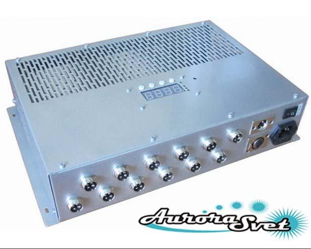 БУС-3-12-600-LD блок управления светодиодными светильниками, кол-во драйверов - 12, мощность 600W.