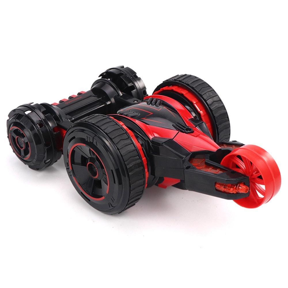Автомобиль трансформер, перевёртыш на радиоуправлении  JJRC Q49 ACRO красный (JJRC-Q49R)