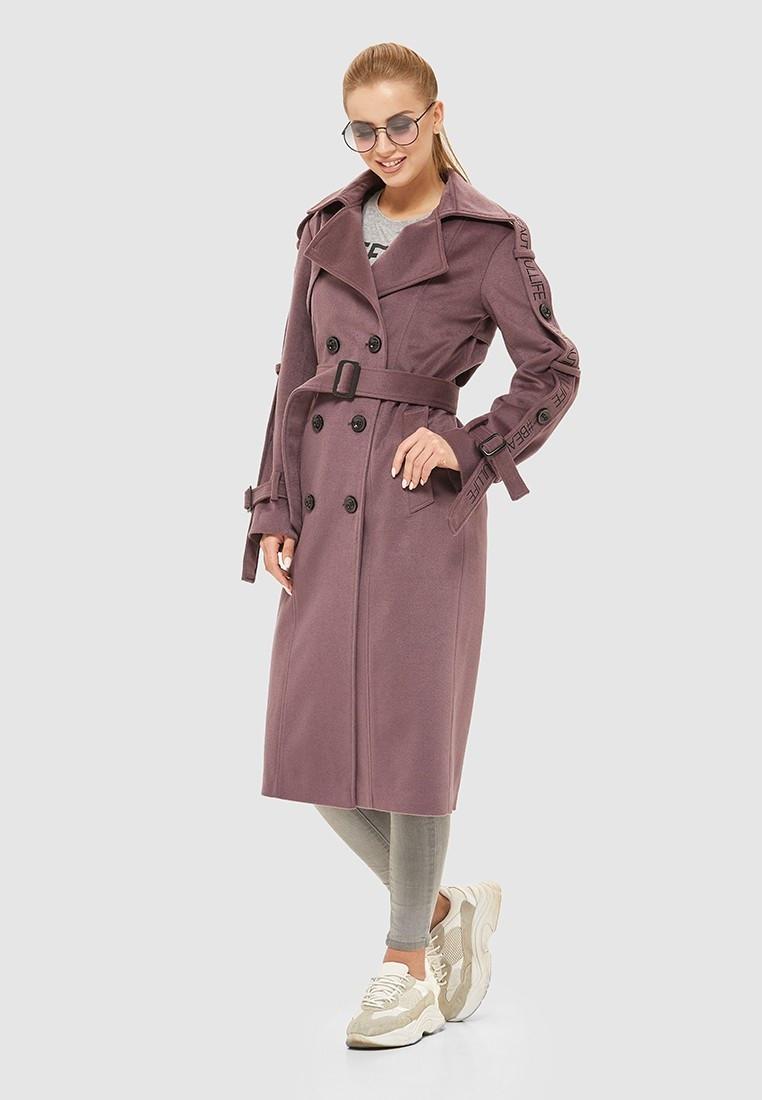 Стильное двубортное пальто из итальянской вареной шерсти 93 (42–50р) в расцветках