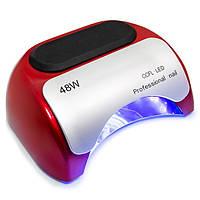 Ультрафиолетовая сушилка для ногтей Beauty nail K18 CCFL+LED лампа 48W