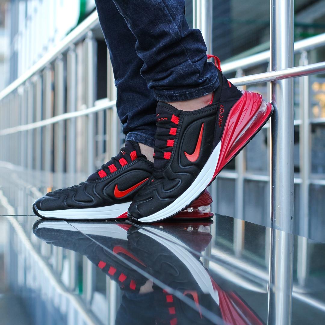 """Кроссовки Nike Air Max 270/720 """"Черные\Красные\Белые"""""""