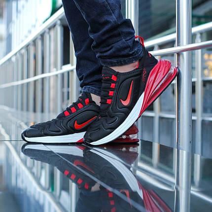 """Кроссовки Nike Air Max 270/720 """"Черные\Красные\Белые"""", фото 2"""