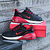 """Кроссовки Nike Air Max 270/720 """"Черные\Красные\Белые"""", фото 3"""