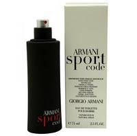 Giorgio Armani Code Sport туалетная вода тестер  (Джорджио Армани Код Спорт)