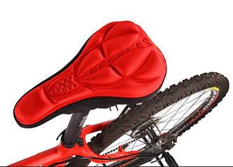 Чохол накладка на велоседло Red
