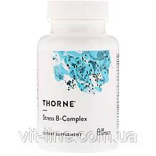 Thorne Research, Пригнічує стрес B-комплекс, 60 рослинних капсул