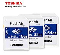 Беспроводные карты SD FlashAir™ W-04  передает RAW и создает сеть WiFi TOSHIBA