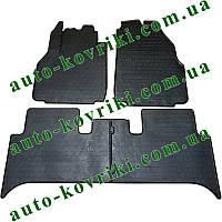 Резиновые коврики в салон Renault Scenic II 2003-2009 (Stingray) Стингрей