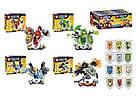 "Конструктор SY 722 ABCD ""Nick Knights"". Аналог Lego Nexo Knights 4 вида, фото 2"