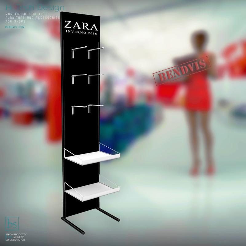 Торговая стойка ⚠️для одежды ZARA mini