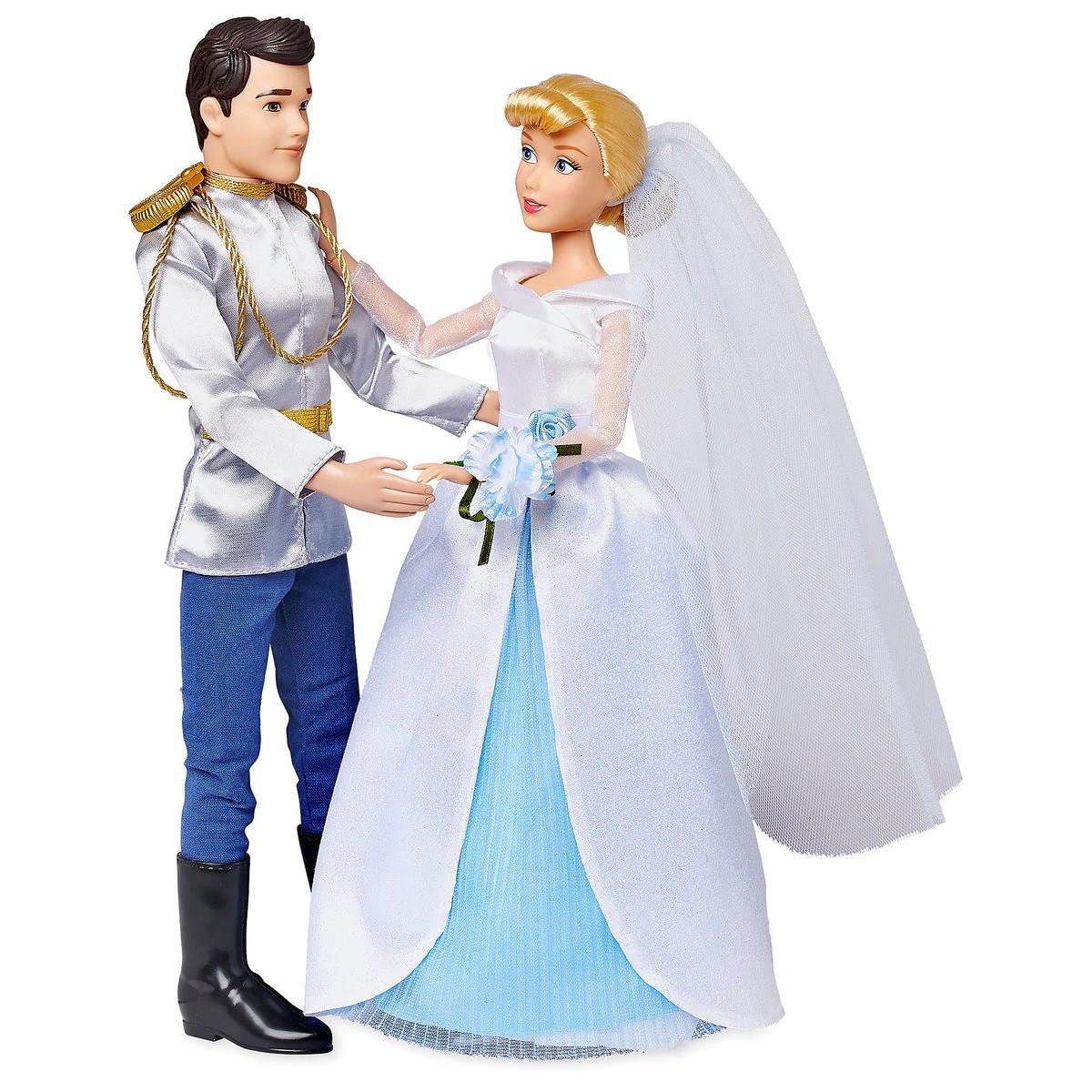 Кукла Золушка и принц Чарминг - Cinderella принцесса Дисней - Prince Charming - Disney набор кукол