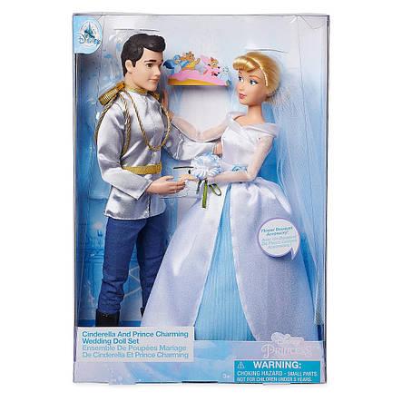 Кукла Золушка и принц Чарминг - Cinderella принцесса Дисней - Prince Charming - Disney набор кукол, фото 2