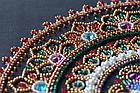 Набор для вышивки бисером Мандала (27 х 27 см) Абрис Арт AB-691, фото 5