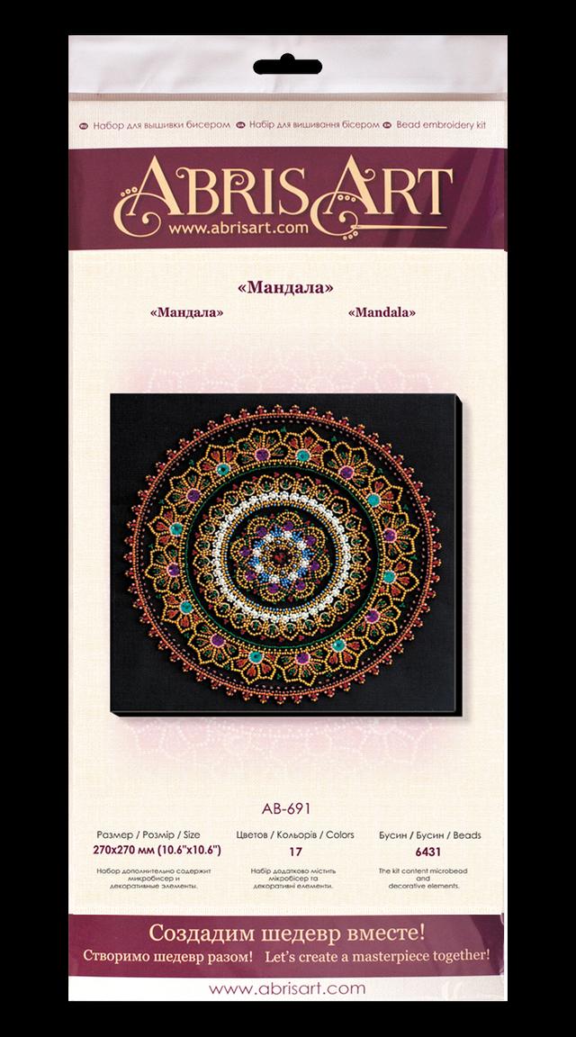 Вышивка бисером Мандала