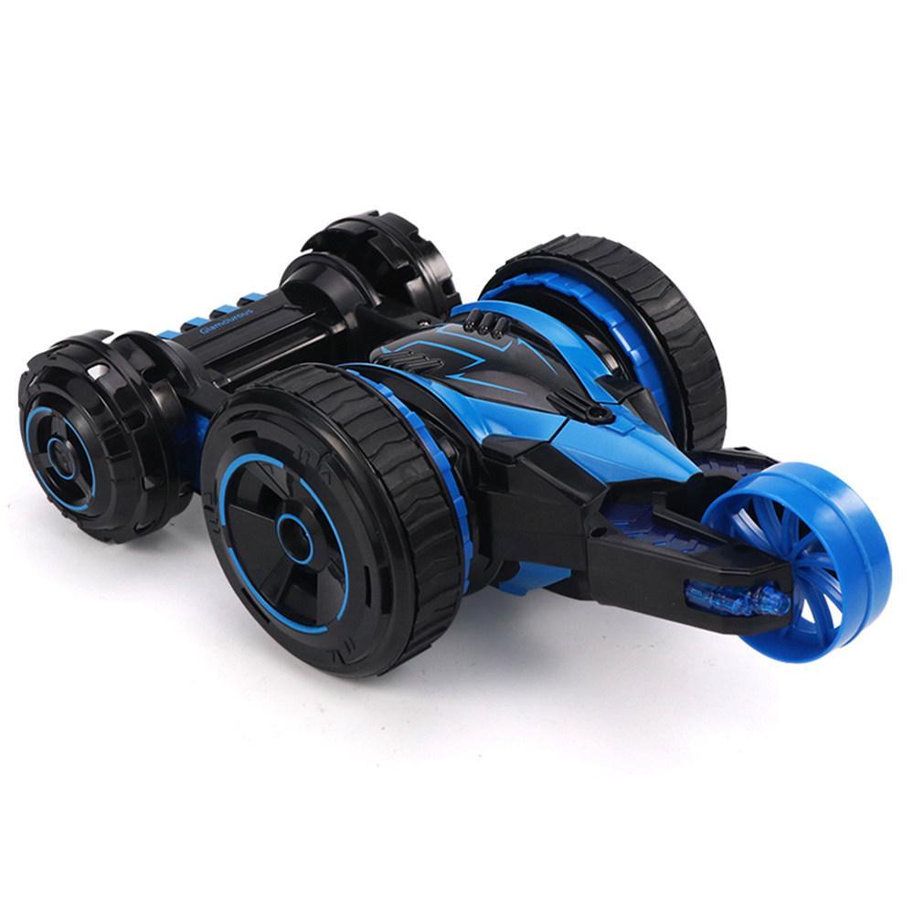 Автомобиль трансформер, перевёртыш на радиоуправлении  JJRC Q49 ACRO красный (JJRC-Q49R) Синий