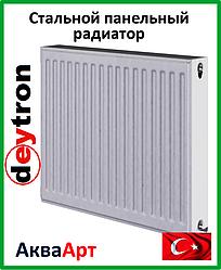 Стальной радиатор Deytron класс 22  500H х 500L б. п.