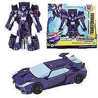 Трансформер Хасбро Шэдоу Страйкер Кибервселенная Transformers Cyberverse Ultra Class Shadow Striker