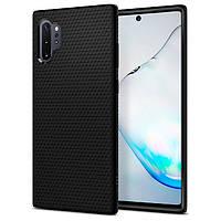 Чехол Spigen для Samsung Galaxy Note 10 Plus / 10 Plus 5G Liquid Air, Matte Black (627CS27330)