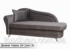 """Диван """"Діана"""" (тканина 24) Габарити: 2,10 х 0,85 Спальне місце: 1,85 х 0,80"""