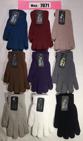 Женские перчатки осень одинарные, фото 2