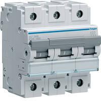 Автоматичний вимикач Hager 3П 125А тип З HLF399S