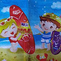 Полотенца полотенички детские хлопок 100 % в разных цветах