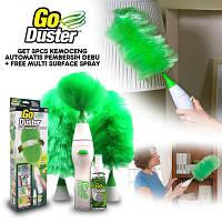 Вращающаяся электронная щетка от пыли Go Duster