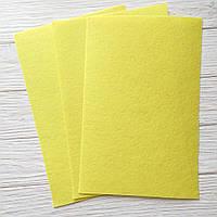 Фетр жесткий 1 мм, Royal Тайвань насыщенно желтый 20*30 см