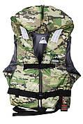 Камуфляжный спасательный жилет Vulkan Neon kamo S (40-60 кг)