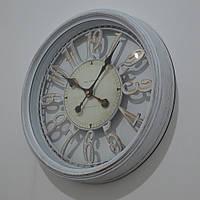 Настінний годинник  з золотою патиною (40 см.), фото 1