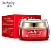 Омолаживающий крем для лица с экстрактом граната One Spring Red Pomegranate Cream (50г), фото 1