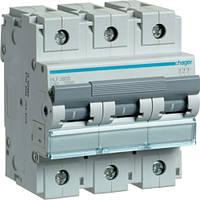 Автоматический выключатель Hager 3П 80А тип С HLF380S