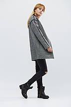 Пальто женское демисезонное PL-8629-8, (Черный), фото 3
