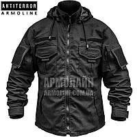 Куртка тактическая (ANTITERROR) Black, фото 1