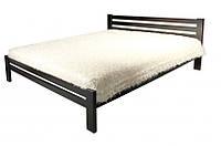 Кровать Классика 1800х2000 орех т. сосна щит (Евродом)