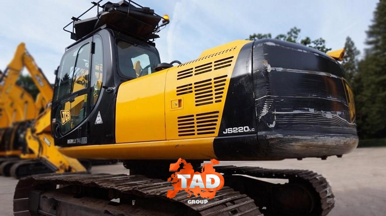 Гусеничний екскаватор JCB JS220 LC (2013 м)
