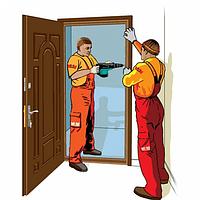 Установка вхідних дверей
