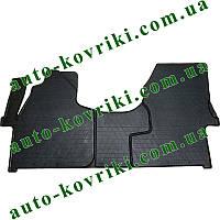 Резиновые коврики в салон Mercedes Sprinter 2006- (1+2) (Stingray)